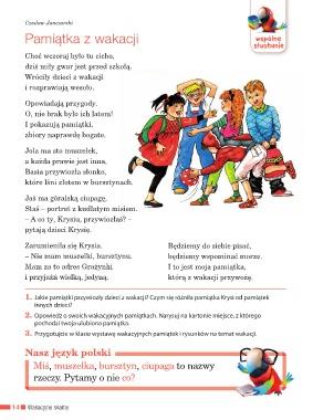 Page 16 Elementarz Odkrywców Podręcznik Kl2 Cz1